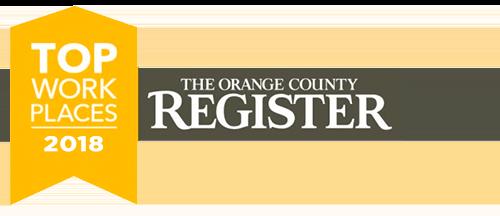 Orange County Register - Top Workplaces 2017