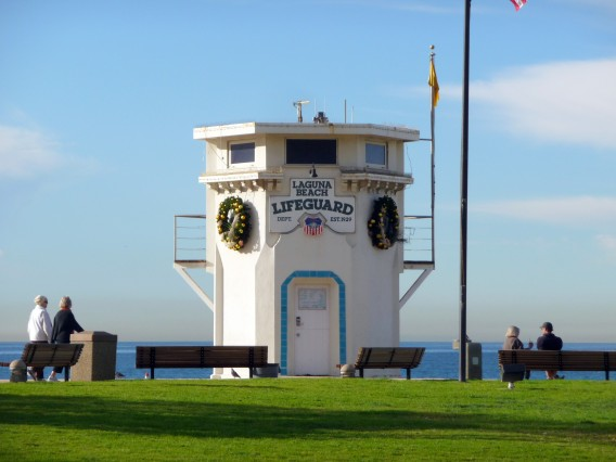Laguna Beach Lifeguard Tower