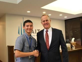 Mayor's Mentoring Program at TAIT