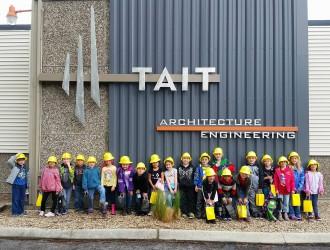 TAIT Hosts Kindergarten Field Trip in Boise