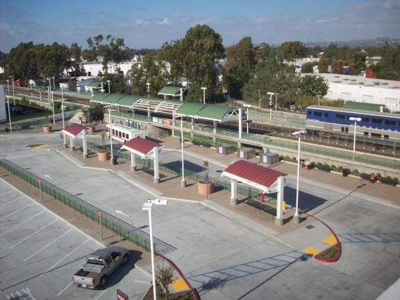 Tustin Metrolink Station
